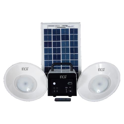 Inca - Solar home lighting kits