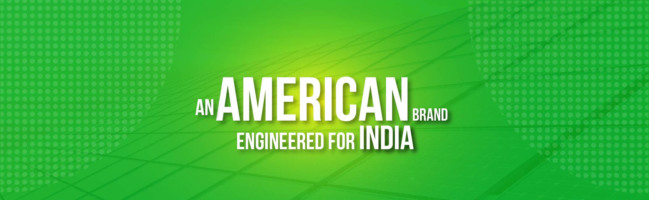 Inca - an American brand engineered for india