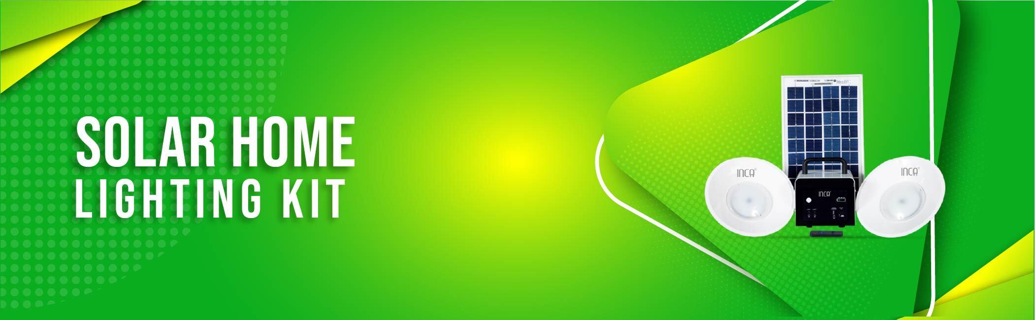Inca - Solar home lighting kit