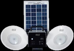 Inca- Portable solar home lighting kit
